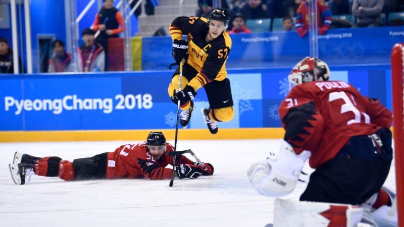 Олимпиада: сборная Канады по хоккею сенсационно уступила команде из Германии