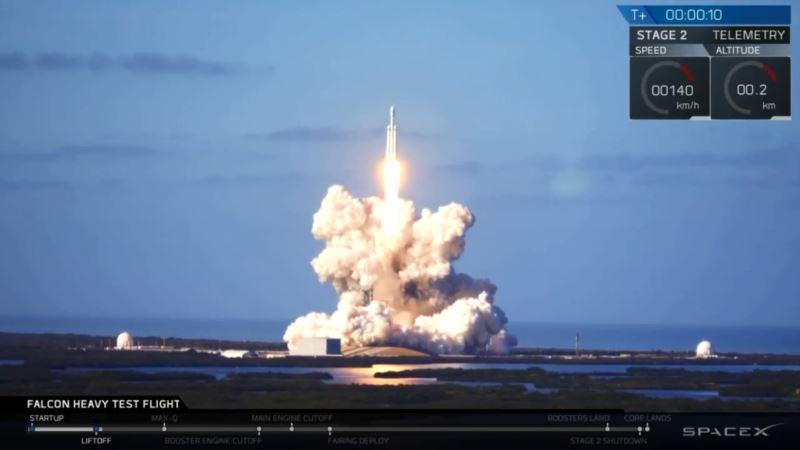 «Авиалинии Антонова» участвовали в подготовке запуска ракеты SpaceX – посольство США