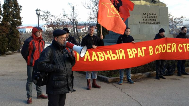 В Севастополе левый активист Игорь Панюта подал жалобу на действия полиции при обыске