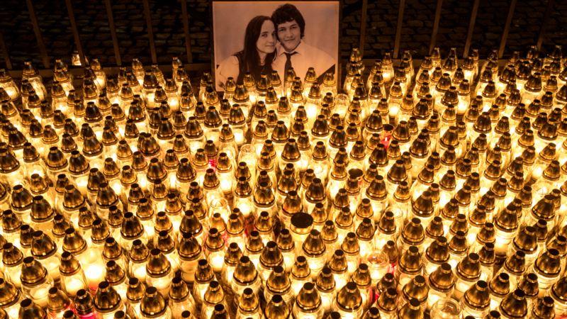 В Словакии похоронили убитого журналиста-расследователя