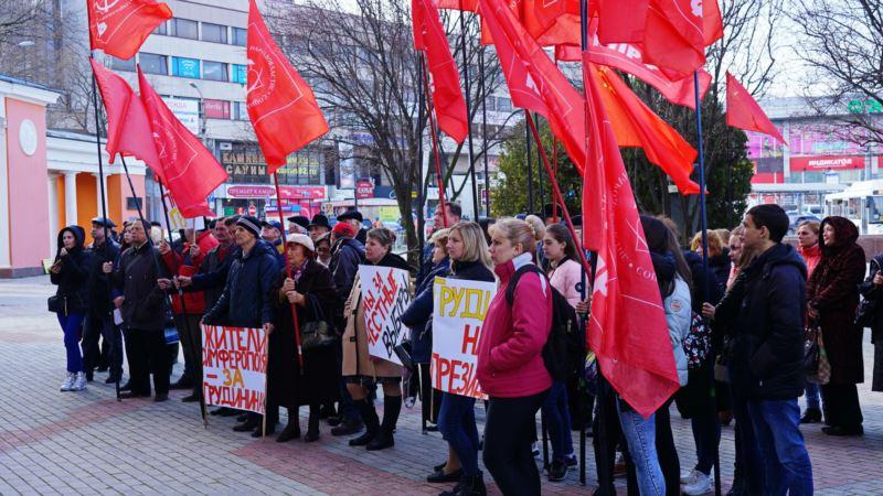 КПРФ в Симферополе: Президентские выборы в России превратились в фарс
