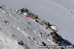 Обломки самолета Aseman Airlines