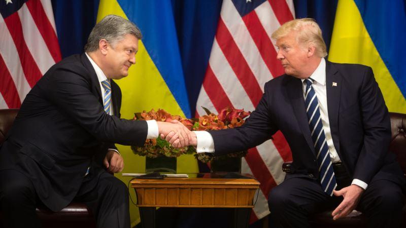 Порошенко поприветствовал решение Трампа продлить санкции против России