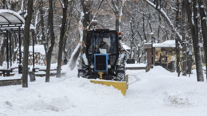 Снегопад в Киеве продлится еще почти сутки –  синоптики