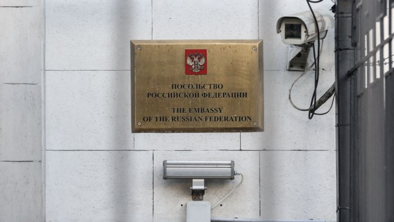 В Киеве перекрыли доступ к посольству России
