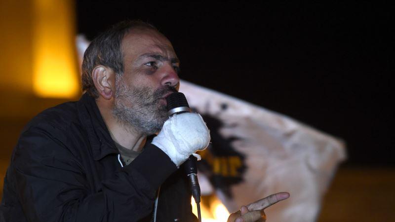 Адвокат не может найти задержанного лидера протестов в Армении