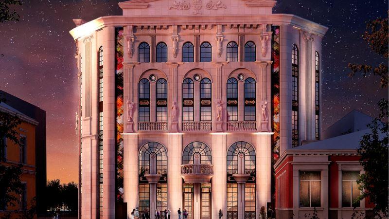 В Симферополе открыли строительство на месте снесенного Театра кукол