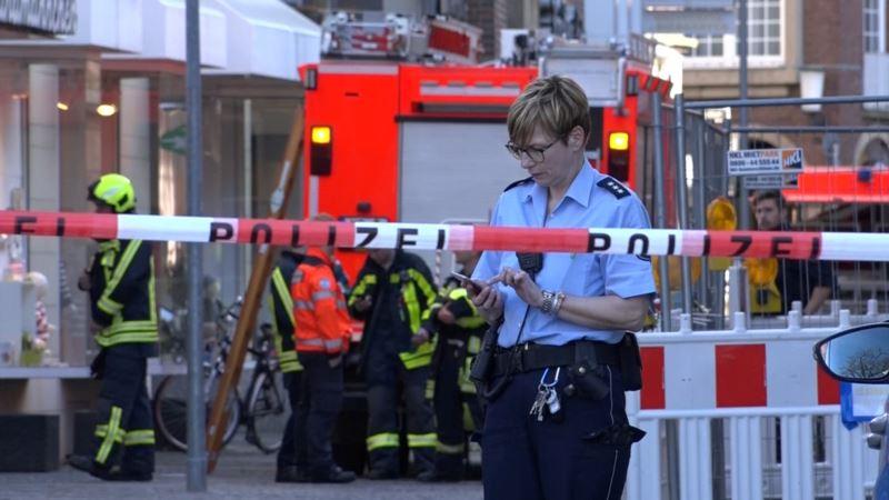 Германия: полиция подтвердила количество погибших из-за наезда авто на толпу