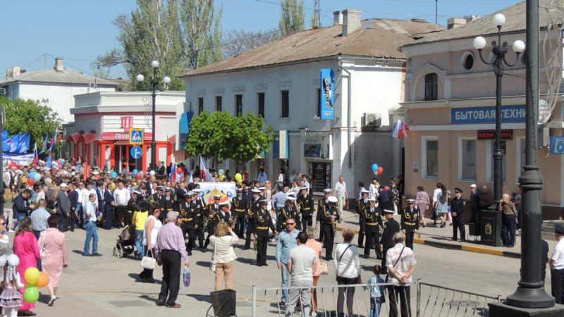 Центр Керчи перекроют ради первомайской демонстрации