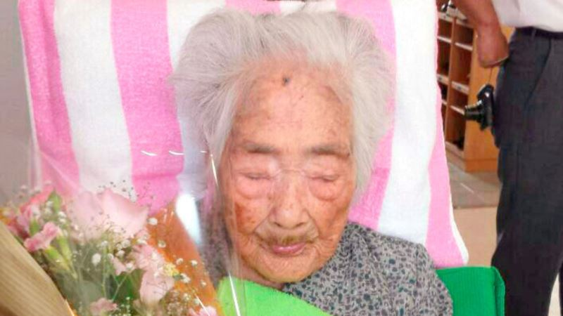 В Японии умерла самая старая женщина в мире