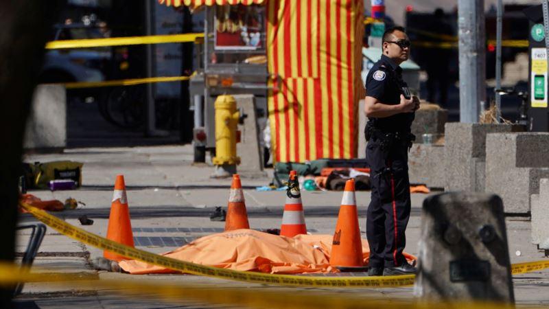 Торонто: число жертв наезда на пешеходов возросло до 10 человек