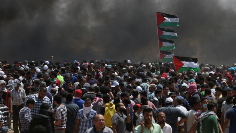 Лидер Палестины осудил «бойню» на границе Сектора Газа