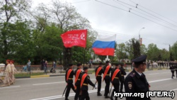 Репетиция парада в Керчи. 7 мая 2018 года