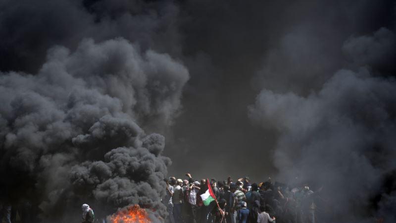 Израиль нанес авиаудар по позициям движения «Хамас»