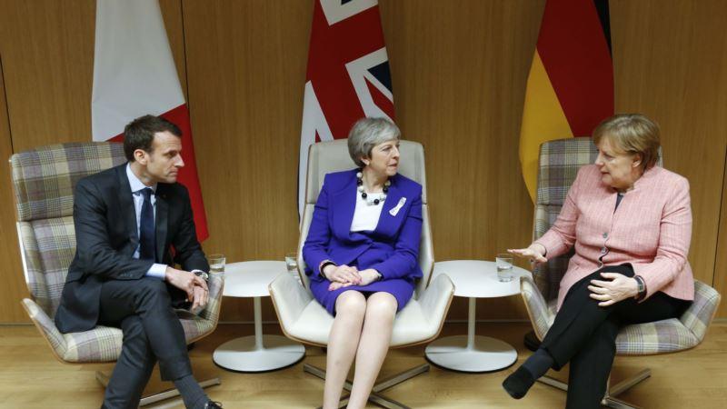 Лидеры Франции, Великобритании и Германии заявляют о приверженности соглашению с Ираном