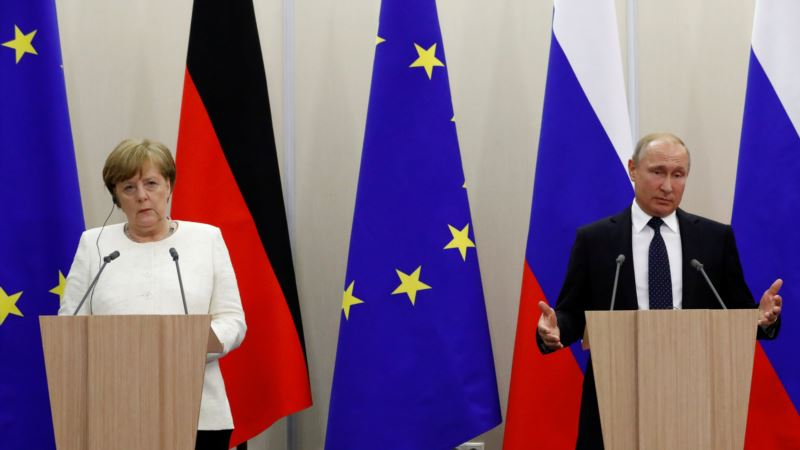 Меркель: После строительства «Северного потока-2» роль Украины как транзитера должна сохраниться