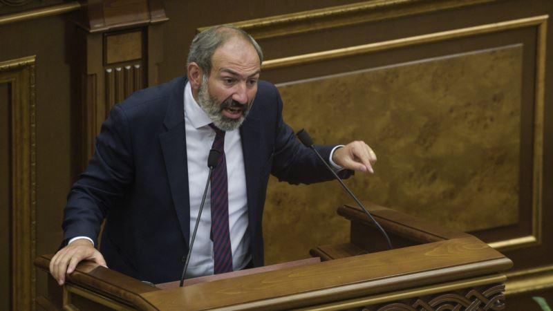 В Армении не избрали премьером лидера протестов Пашиняна