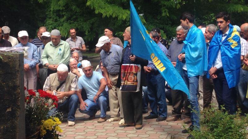 В Симферополе начинается крымскотатарская акция памяти жертв депортации 1944 года (+ фото)