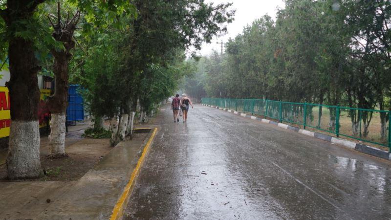 В Крыму 10 мая ожидается теплая и дождливая погода