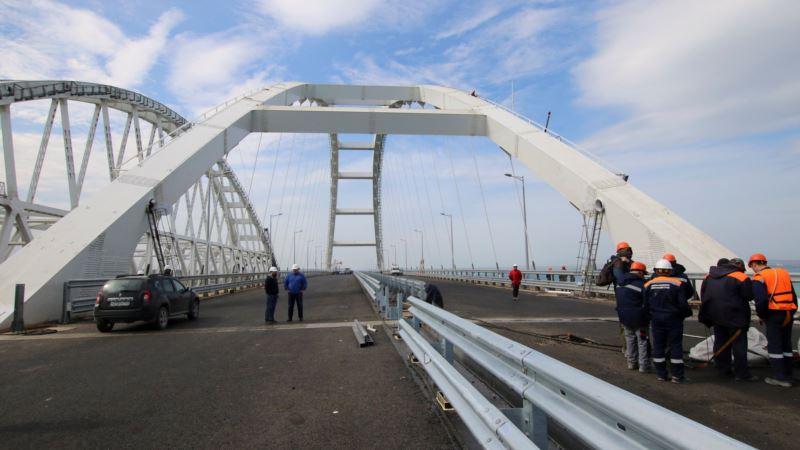 В Крыму открыли движение по путепроводу в районе стройки моста через Керченский пролив – СМИ