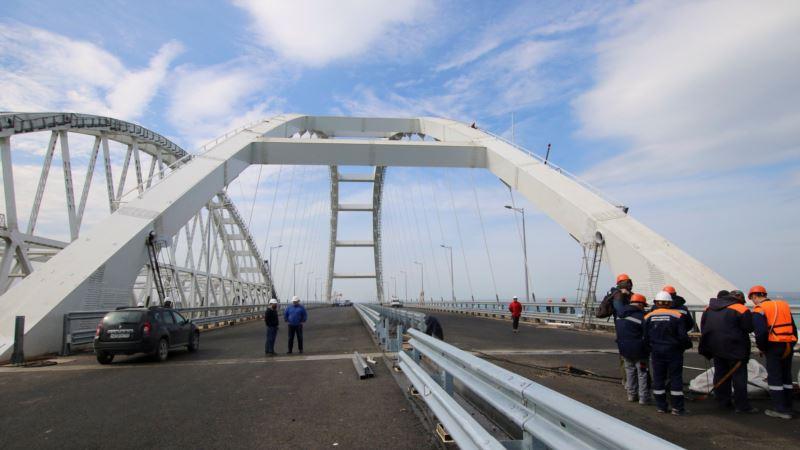 В Керчи в день открытия моста намерены ограничить продажу алкоголя