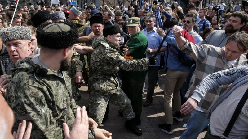 Суд в Москве оштрафовал казака за хулиганство на акции 5 мая – СМИ