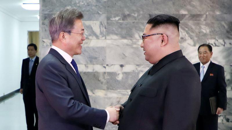 Лидеры Южной Кореи и КНДР встретились, чтобы обсудить встречу с Трампом