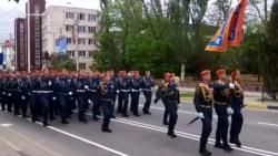 Репетиция парада в Керчи: по центральным улицам проехали «Грады» и «Триумфы» (+ видео)