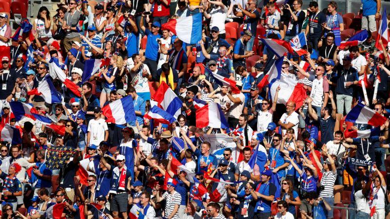 Чемпионат мира по футболу: Франция обыграла Аргентину со счетом 4:3