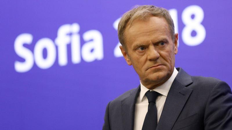 Президент Европейского совета на саммите G7 призвал освободить Сенцова