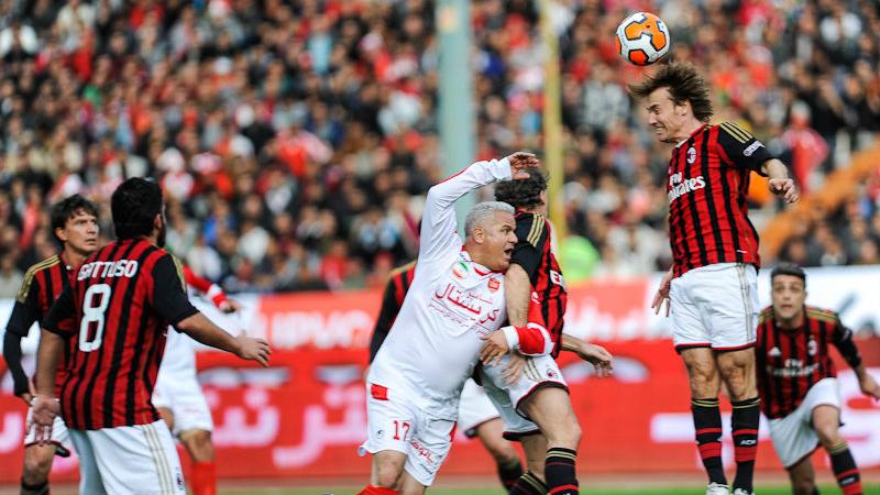 Итальянский «Милан» на год отстранили от участия в еврокубках