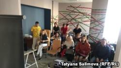 Томск: в рамках акции в поддержку Сенцова показали документальный фильм о нем