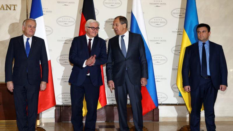 В Берлине проходят переговоры глав МИД в «нормандском формате»