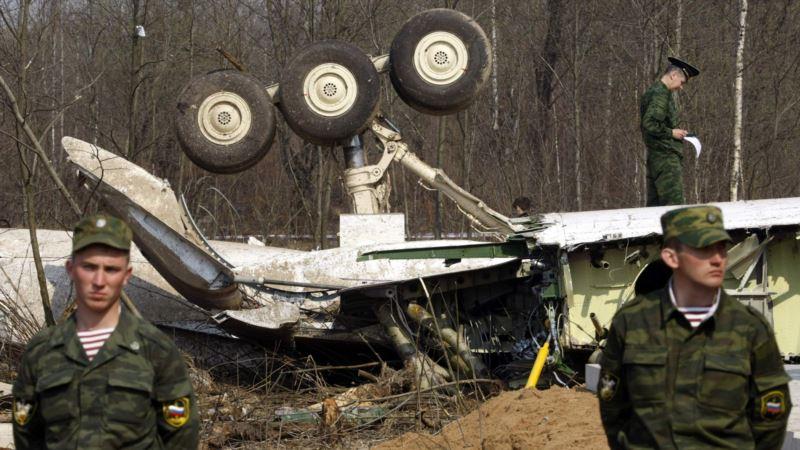 Польша заявила о следах взрыва на борту самолета Леха Качиньского