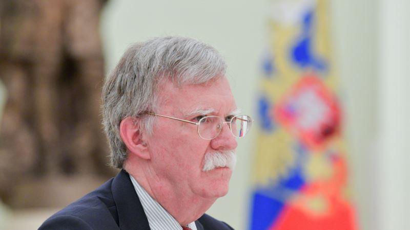 Болтон в Москве: США не изменит позицию по аннексии Крыма (трансляция)