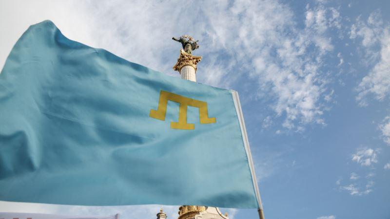 «Собираемся все». В Киеве пронесут 36-метровый крымскотатарский флаг