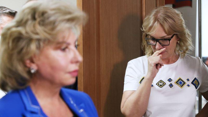 В Кремле отреагировали на сложности в посещении заключенных Денисовой и Москальковой