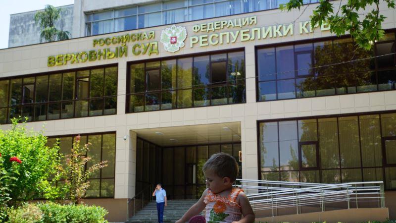 В Симферополе отложили рассмотрение жалобы полиции на задержанного в ходе акции 17 мая