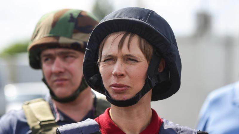 Президент Эстонии: В Украине идет война, а не замороженный конфликт