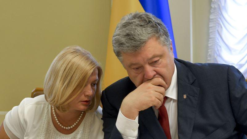 Порошенко призвал украинскую диаспору бороться за освобождение политузников Кремля