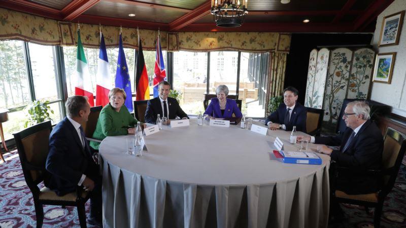 G7 создает «механизм быстрого реагирования» на шаги России