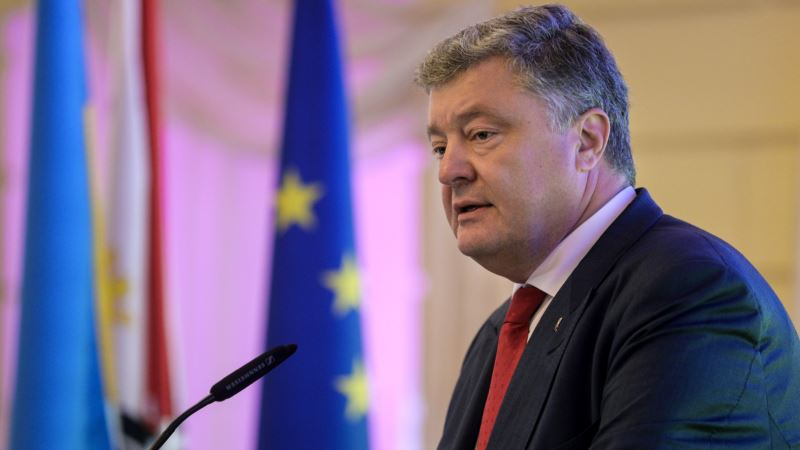 «Наше требование – возвращение Крыма». Порошенко приветствовал продление санкций ЕС по России