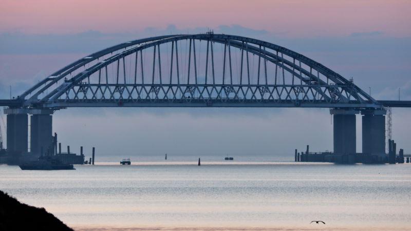 Мэр Керчи назвал Крымский мост «артерией жизни»