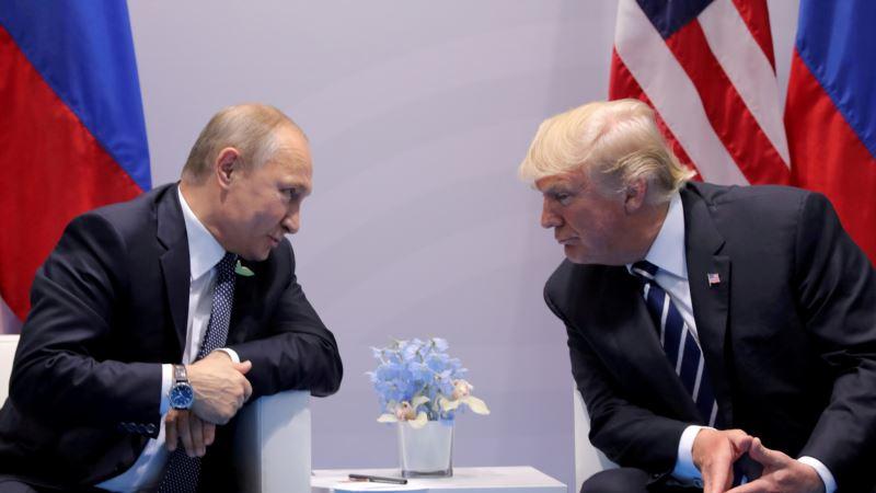 Путин заявил, что пригласил Трампа в Москву