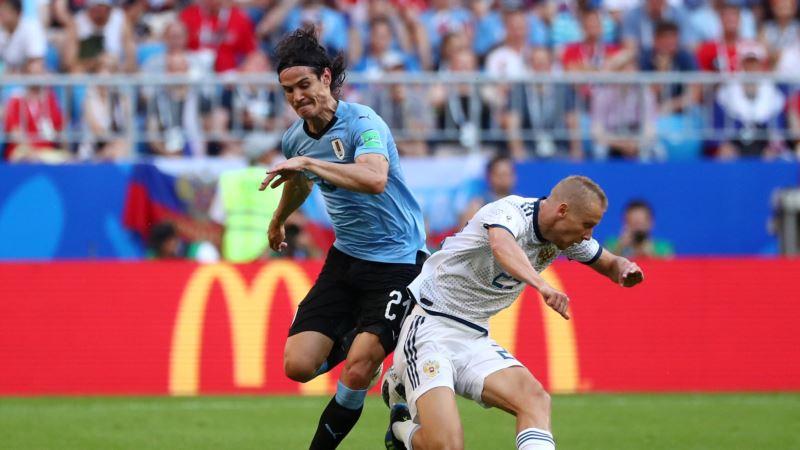 Чемпионат мира по футболу: Уругвай обыграл Португалию в 1/8 финала