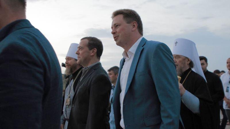 Медведев прибыл на парад ко Дню ВМФ в Севастополе