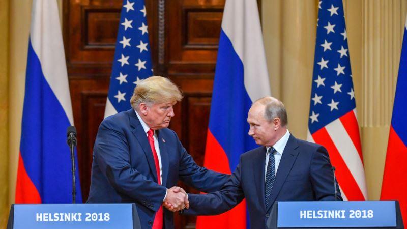 Трамп после встречи с Путиным: Россия и США должны поладить