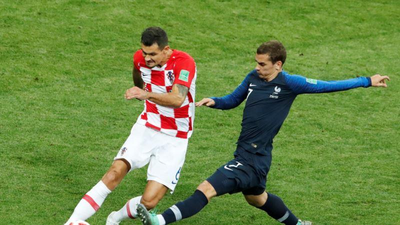 Сборная Франции победила в Чемпионате мира по футболу
