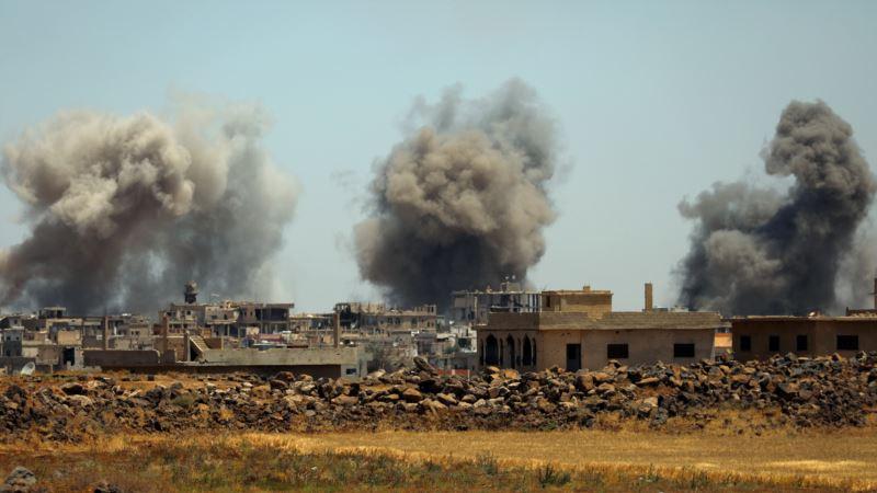 На юго-западе Сирии возобновились российские воздушные удары