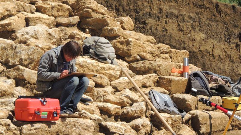 Ученые объявили об останках гигантского носорога в пещере под «Тавридой»